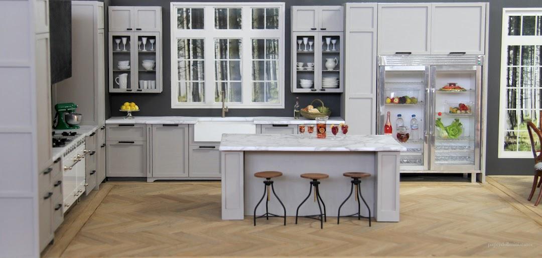Kitchen Magazine modern laser cut kitchen completed and breathe magazine