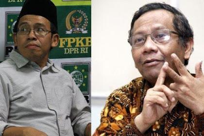 Andai Mahfud MD Dampingi Jokowi