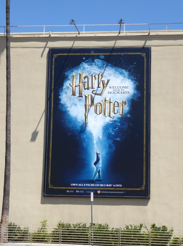 Harry Potter movies billboard