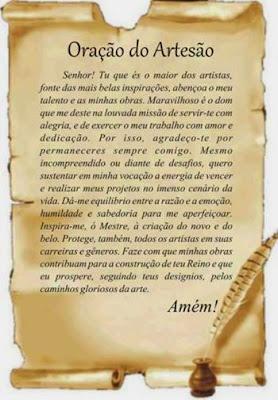Oração do Artesão