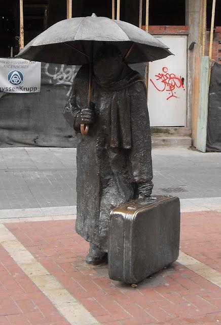 Escultura de hierro en Valladolid