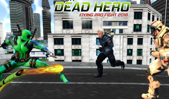 Dead Superhero: comics action game in Crime City Apk Free on Android Game Download