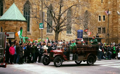 St Patricks Day, parade, horses