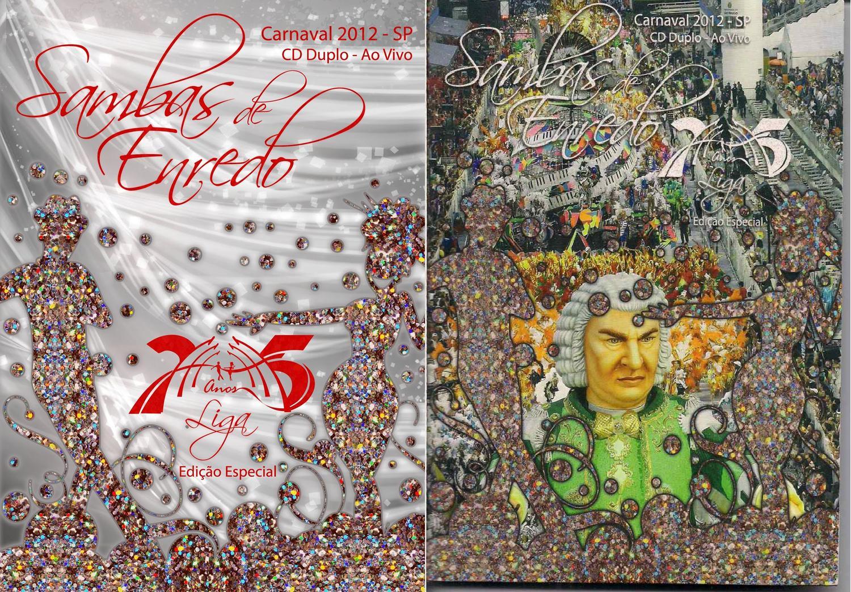 cd sambas de enredo 2012 sp