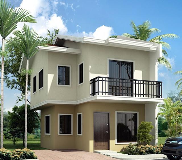 Desain rumah 2 lantai mungil type 36 - Bentuk Rumah Idaman