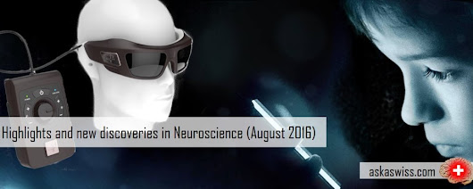 Highlights and new discoveries in Neuroscience (August 2016)