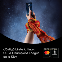 Castiga un pachet VIP la finala UEFA Champions League Kiev 2018