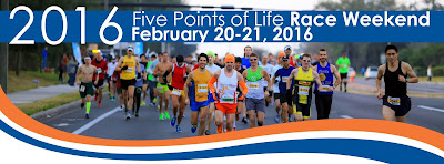 2016 Five Points of Life Race Weekend