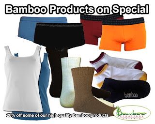 Bamboo Creations Victoria have high quality bamboo products on sale for 20% off