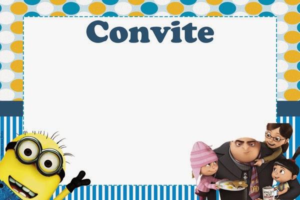 Minions Divertido Kit Para Imprimir Gratis Ideas Y