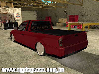 Vw Saveiro G4 1.8 Edit para GTA San Andreas