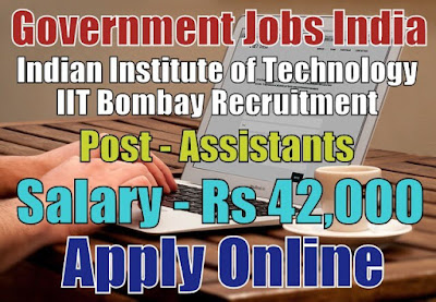 IIT Bombay Recruitment 2018