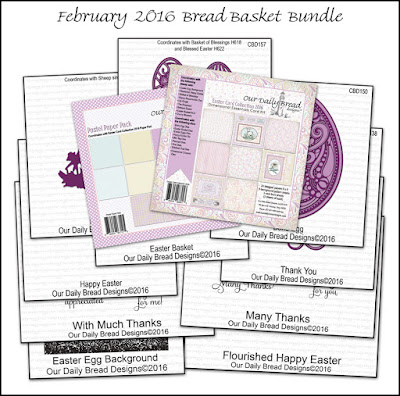 Our Daily Bread Designs February 2016 Bread Basket Bundle
