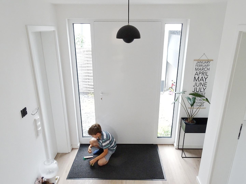 Eingangsbereich Neubau | Fotoaktion #12von12 | 1 Tag in 12 Bildern im Juli | https://mammilade.blogspot.de