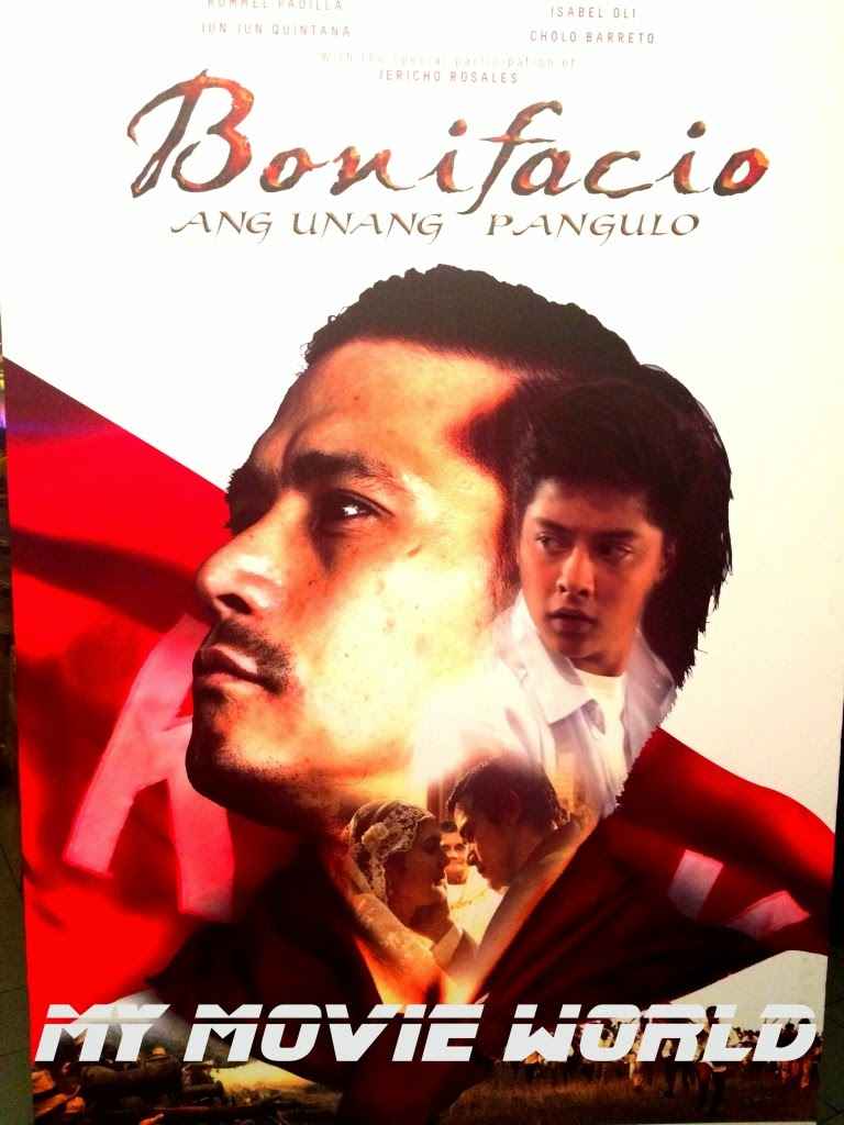 my movie world movie review bonifacio ang unang pangulo