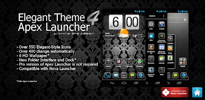 Elegant Theme 4 Apex Launcher