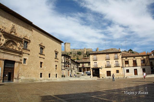 Plaza Mayor de Peñaranda de Duero, Burgos