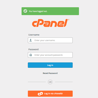 login  your cpanel.