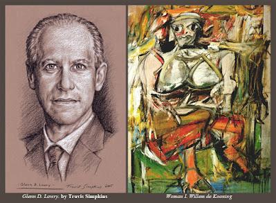 Glenn D. Lowry. Museum of Modern Art. MoMA. Willem de Kooning. by Travis Simpkins