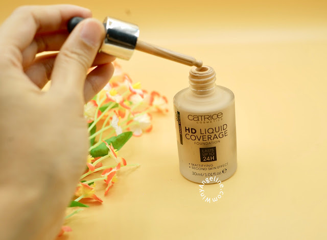 CATRICE HD LIQUID COVERAGE FOUNDATION (REVIEW)