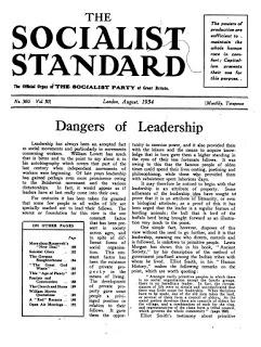 Socialist Standard Past & Present: 03/21/19