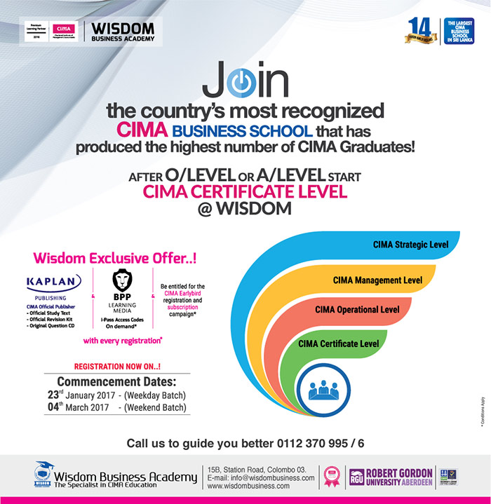 CIMA - Registration now on for January intake