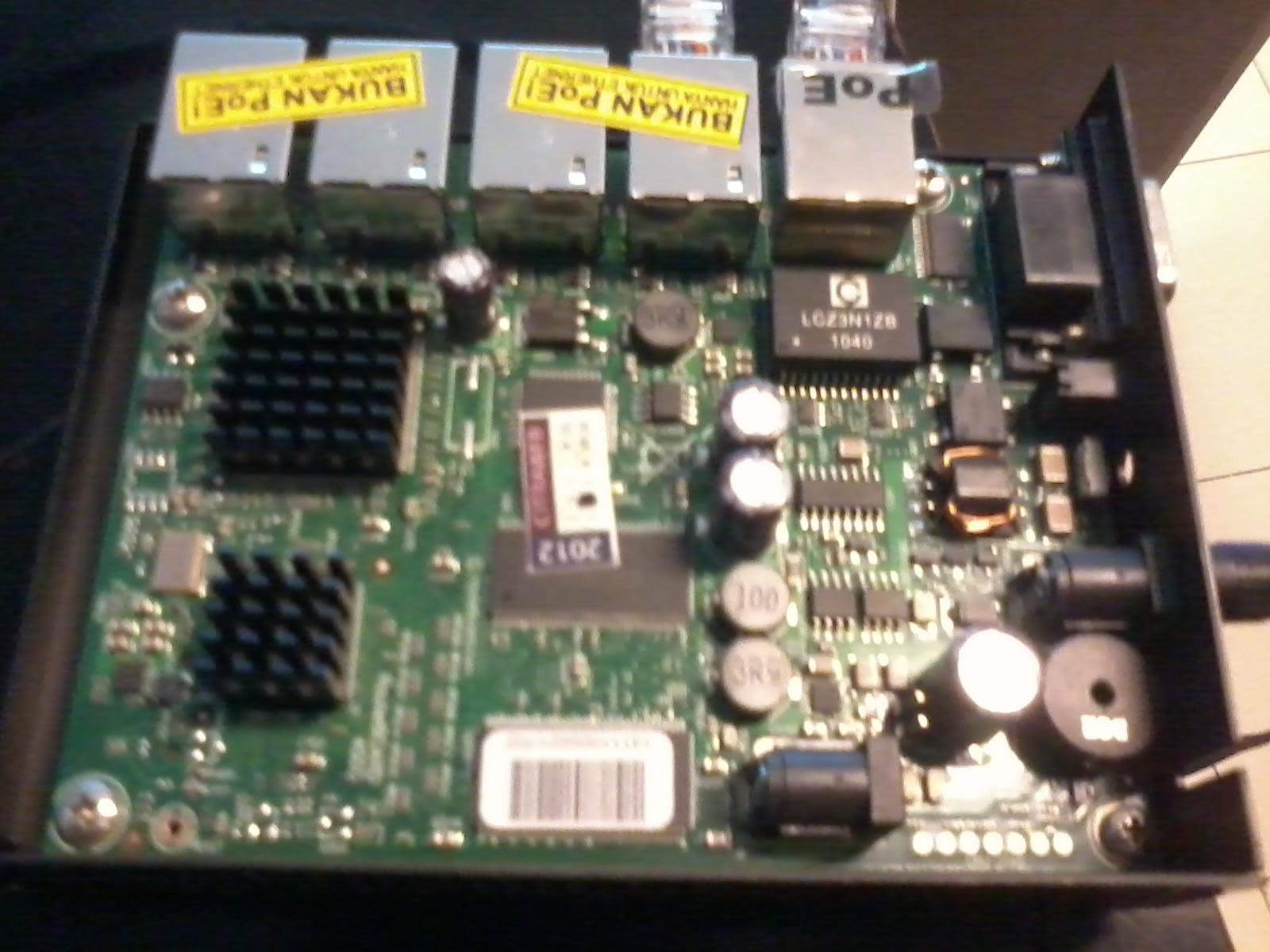 Reset Mikrotik Router Board RB 450 ~ altertek net