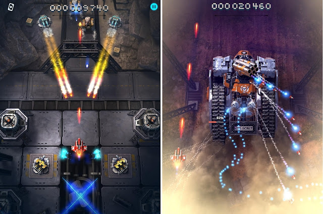 Download Game Sky force reloaded mod apk + OBB Data