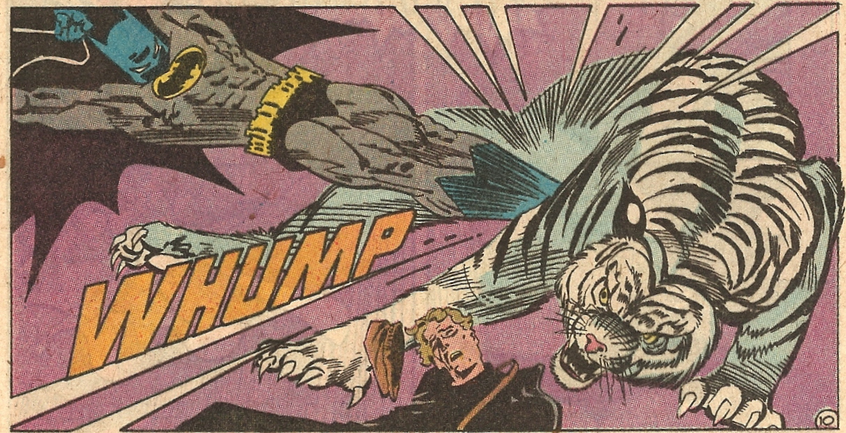 8c75e3e44e946a The latest issue of Batgirl featured a fight scene in which Batgirl Barbara  Gordon fought a tiger hand-to-hand and
