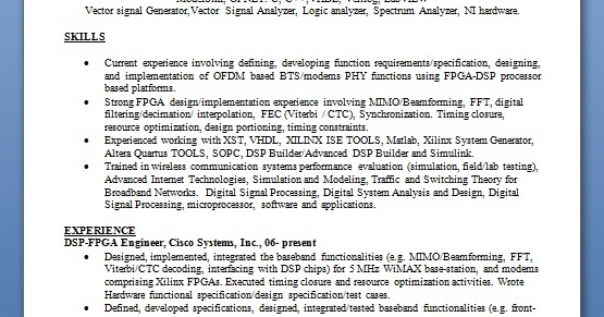 Digital Dsp Design Engineer
