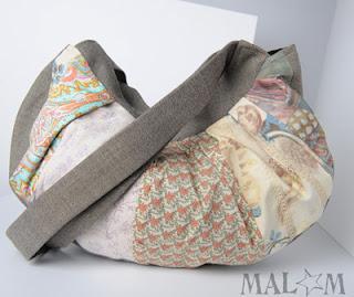 sac patchwork créateur couleus pastel