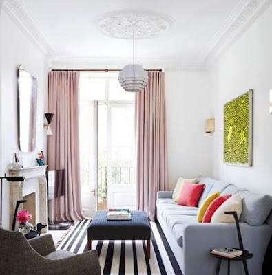warna cat dinding ruang tamu modern terbaru