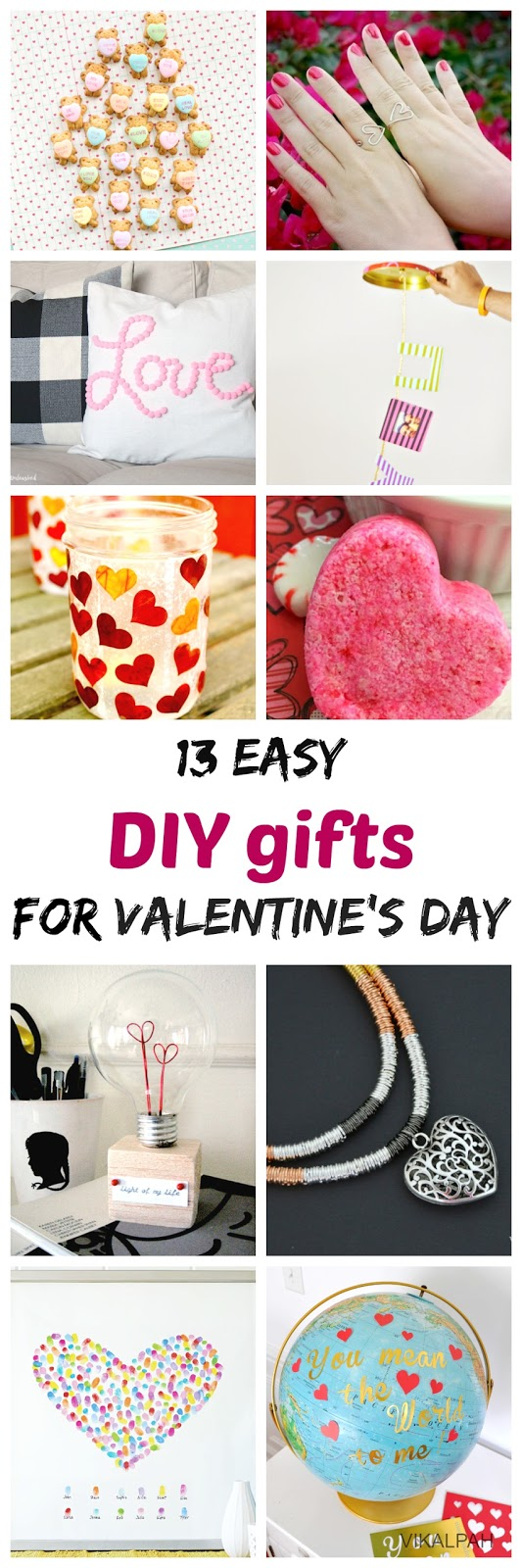 DIY gift ideas for valentines day