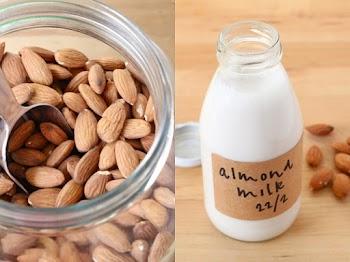 Γάλα αμυγδάλου: Υγιεινό αλλά δύσκολο να το φτιάξεις; Κι όμως γίνεται σε 2!