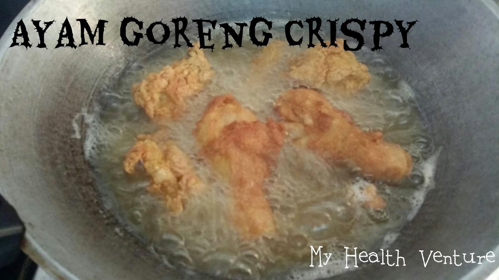 Cara Masak Ayam Goreng Rangup Tanpa Tepung Serbaguna Paling Mudah