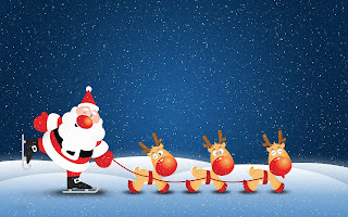 Santa-playing-skates-with-reindeer-cartoon-images-for-children-greeting-cards.jpg