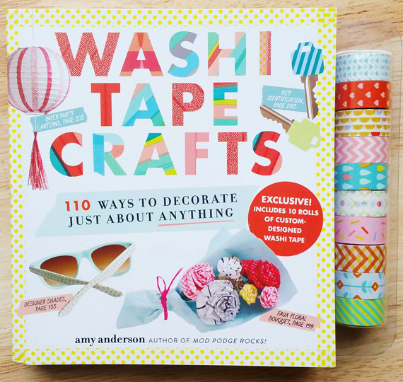 Washi Tape Crafts - 110 Ways to Decorate Just about Anything