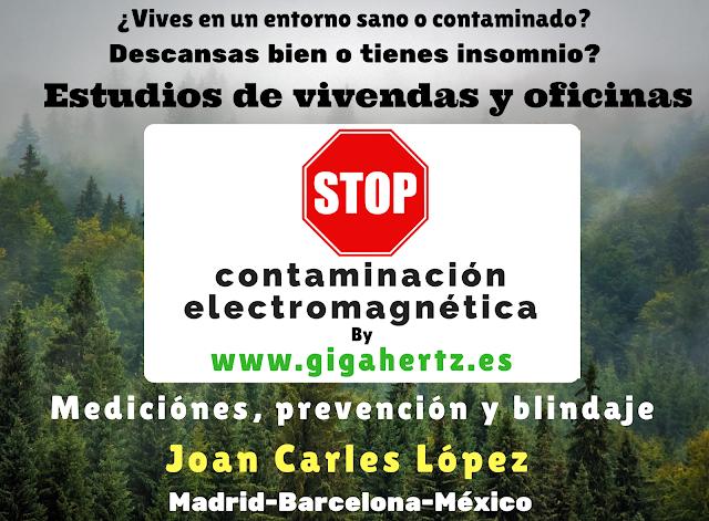 Estudios medio ambientales y de descontaminación electromagnética