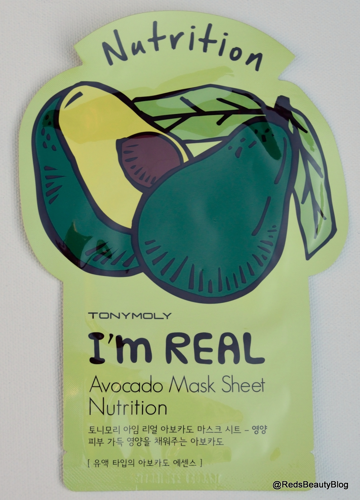 A picture of Tony Moly Im Real Avocado Mask Sheet