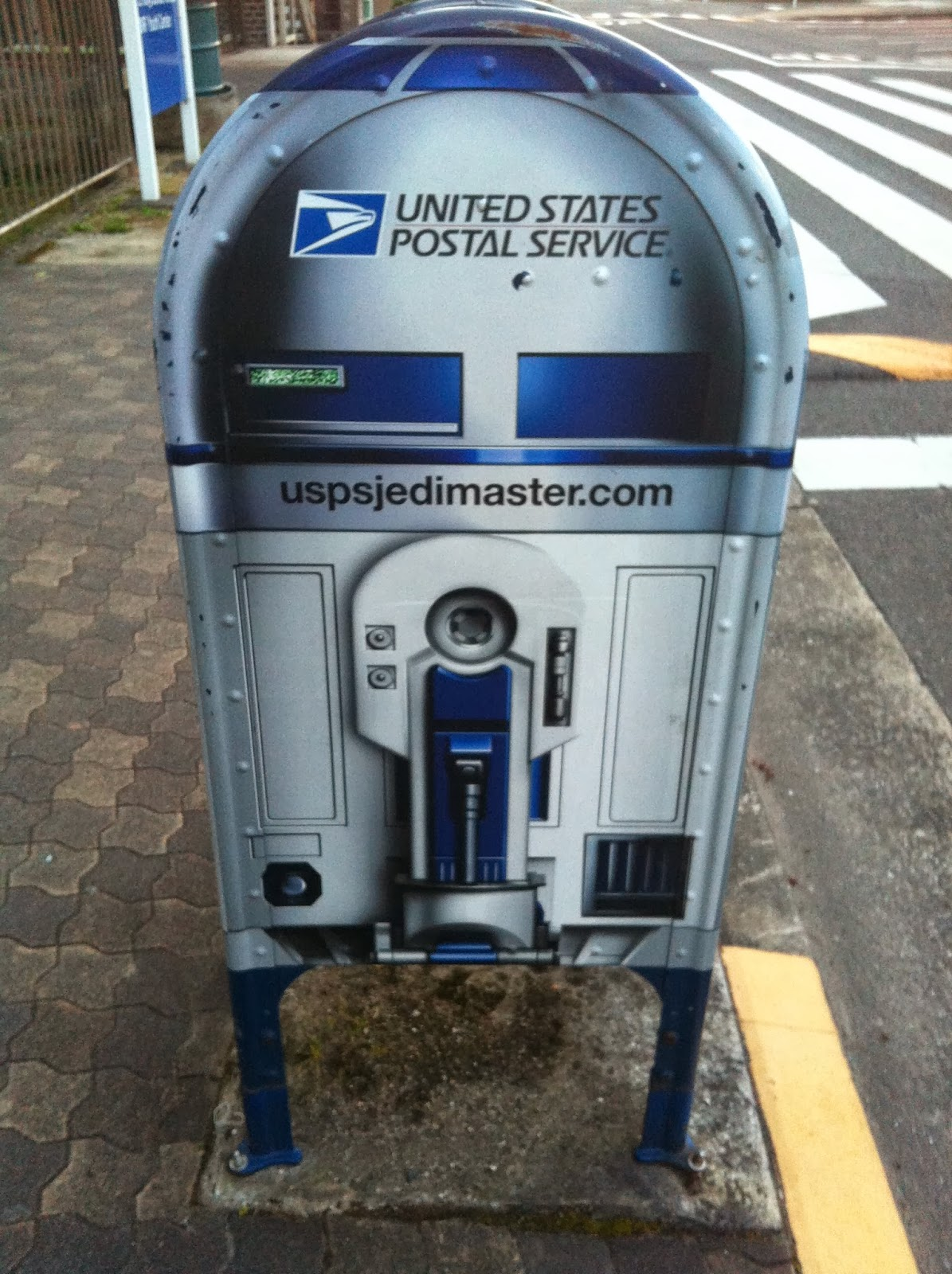 r2d2, star wars, usps