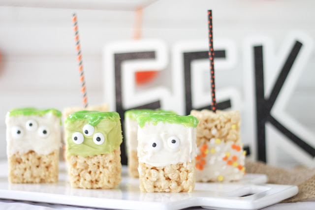 Monster Rice Krispy Treats