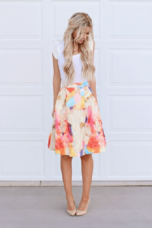 50+ Chic Spring Outfits With Flowers