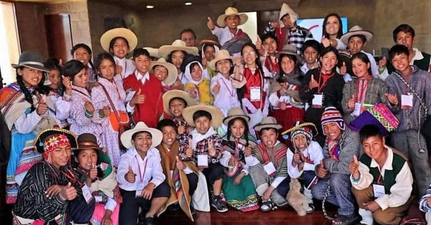 TINKUY 2017: Niños de 14 pueblos indígenas participarán en sexta edición del certamen que organiza el Ministerio de Educación - MINEDU - www.minedu.gob.pe