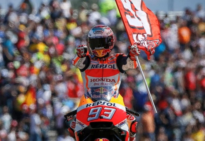 MotoGP Aragon 2017 : Marquez finish pertama, disusul Pedrosa dan Lorenzo . . Rossi super sekali