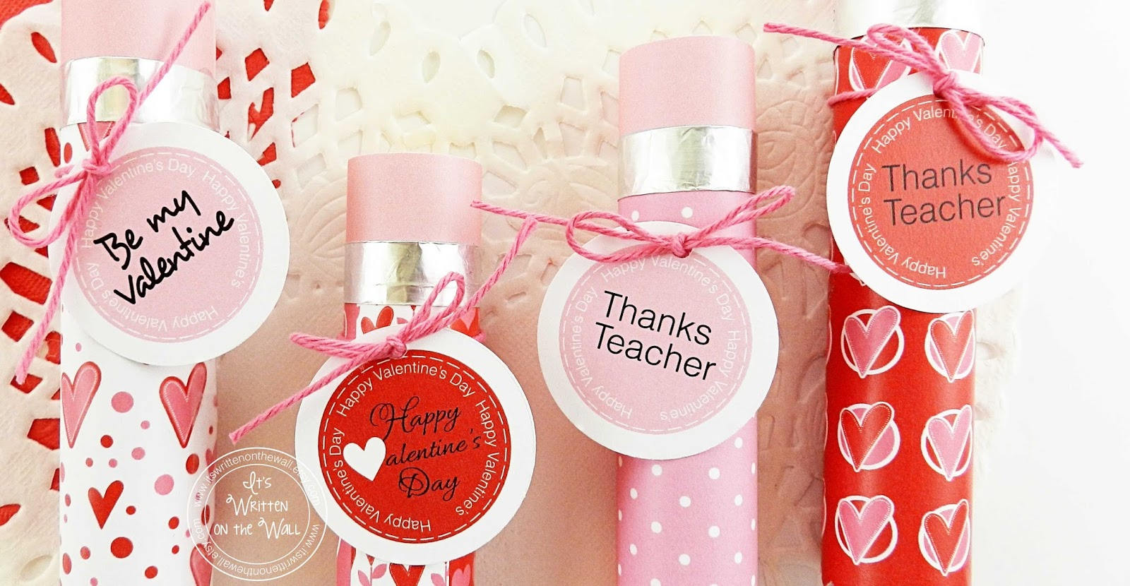 It\'s Written on the Wall: Valentine\'s Day Teacher Appreciation ...