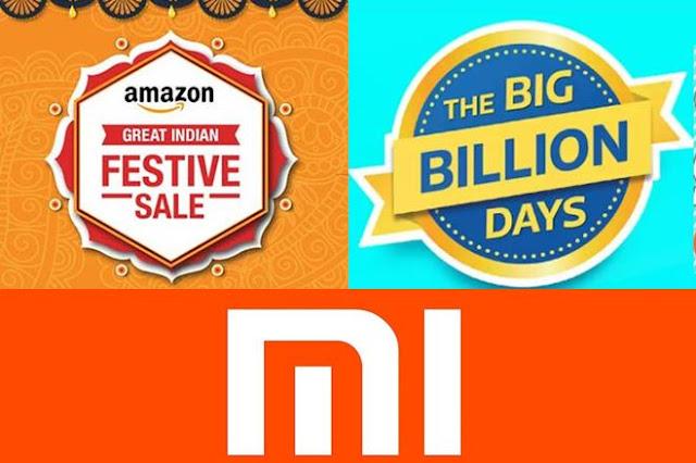 Xiaomi Mi smartphones;Amazon great Indian sale; Flipkart Big billion Day Sale