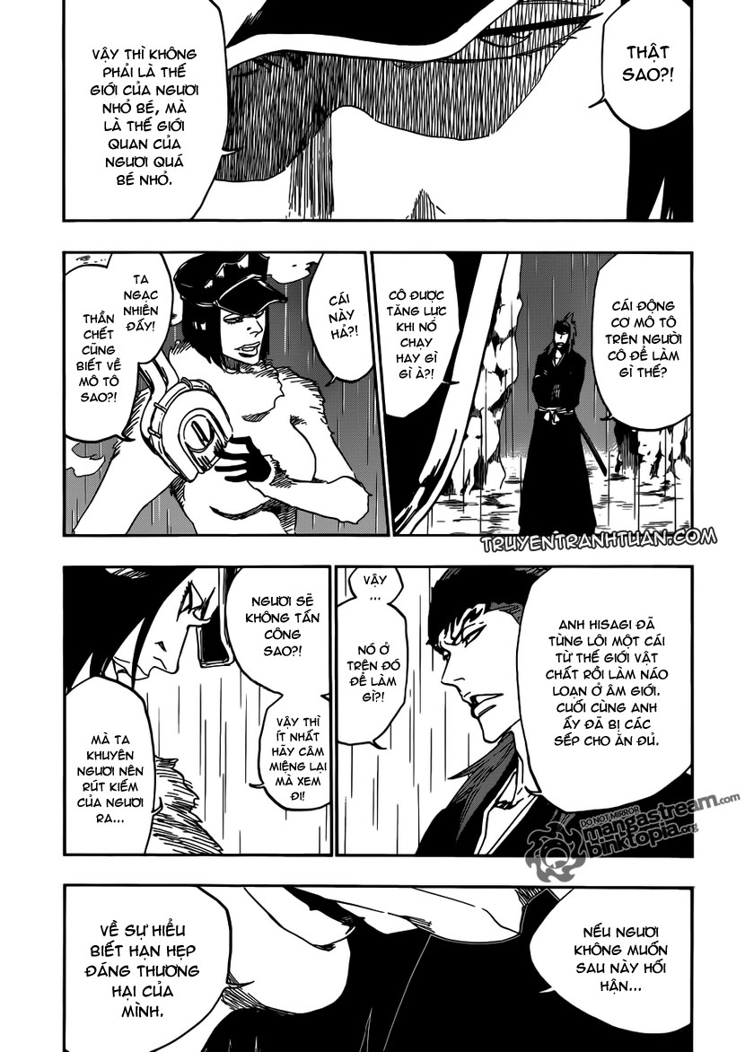 Bleach chapter 465 trang 10