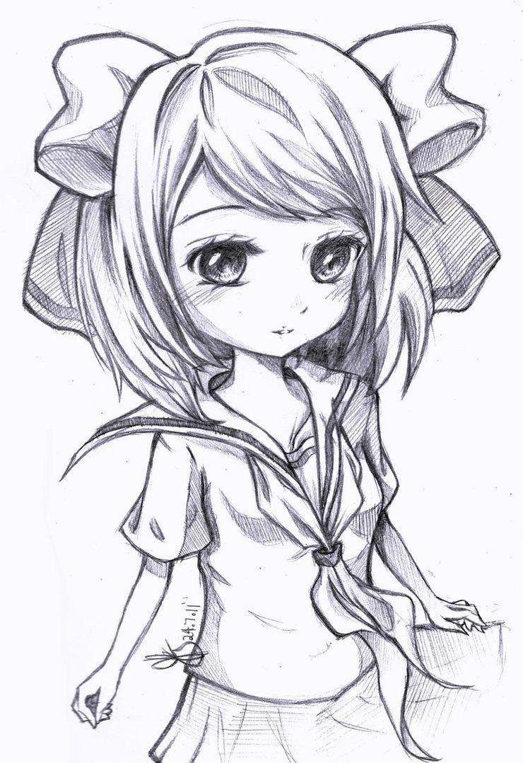 hokage-q8: coloring cute anime