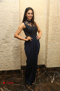 Actress Rakul Preet Singh Stills in Beautiful Blue Long Dress at Dhruva Salute to Audience Event  0105.JPG