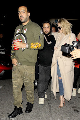 What does lamar say about khloe dating french montana